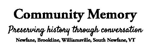 Newfane/Brookline Community Memory